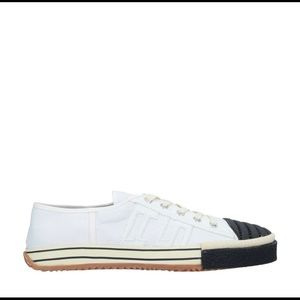 NWOB Acne Studios 2 tone canvas sneakers. Size 37